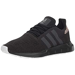 adidas Originals Women's Swift Running Shoe, Black/Carbon/White, 9.5 M US