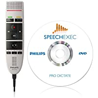 Philips LFH3205 SpeechMike III Pro (Push Button Operation) USB Professional PC-Dictation Microphone with SpeechExec Pro Dictate