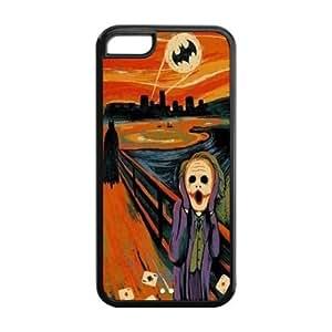 Mystic Zone Batman Joker Cover Case for iPhone 5 5s TPU (Cheap iPhone 5 5s5)
