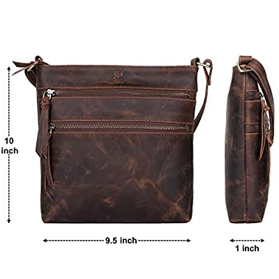 Leather Centric Ladies Cross Body Sling Bag