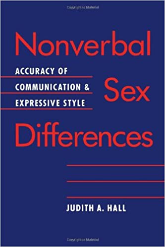 Accuracy communication difference expressive nonverbal sex style