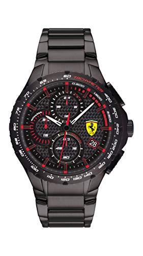 Scuderia Ferrari Pista Analog Black Dial Men's Watch-0830730