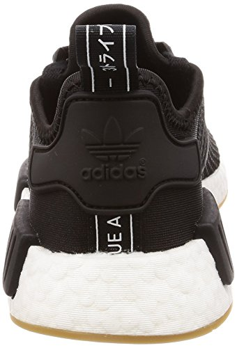 Shoes GUM CORE Adidas NMD BLACK R1 BLACK CORE Men Rnqvqwgf