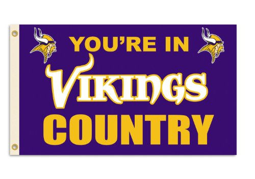 NFL Minnesota Vikings 3-by-5 Foot