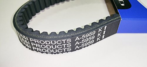 Go Karts Manco (Kevlar Cogged Asymmetric Go Kart Belt for Manco 5959)