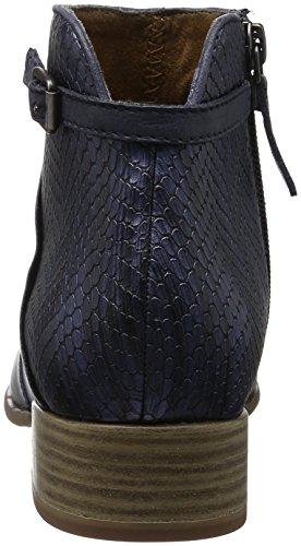 Tamaris 25099, Botines para Mujer Azul (Navy Comb 890)