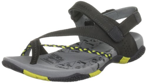 Merrell Siena Water - Sandalias deportivas para mujer, color negro, talla 37