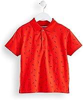 RED WAGON Polo Manga Corta Niños, Rojo (Red 18-1664 Tcx), 134 (Talla del Fabricante: 9 Años)