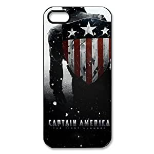 Protective Plastic Cover Shell for Apple iPhone 5 5g 5s Skin Protector Case-Captain America American Spirit-2