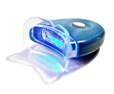 NEW LED Blue Plasma Hands-free Teeth Whitening Accelerator Light w/ Batteries (Plasma Light Teeth)