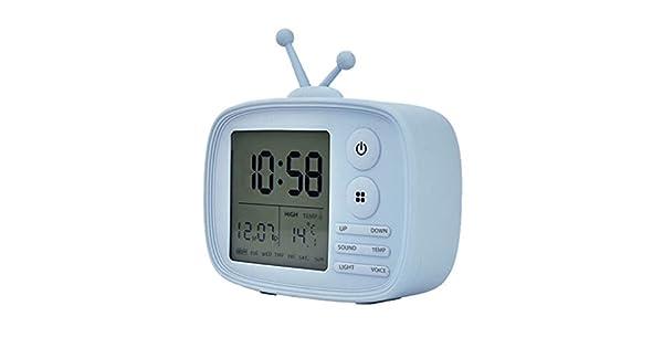 Amazon.com: Amaping - Reloj despertador de silicona con ...