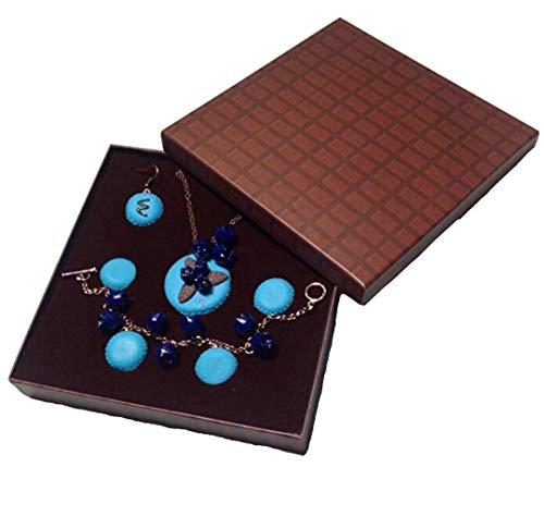 3 Piece Blueberry Macaron Kawaii Lolita Jewellery Set