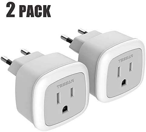 European Adapter TESSAN International Lightweight product image