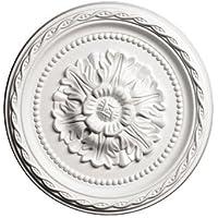 Rosetón de techo de poliétano, 1,009, diámetro 29,3