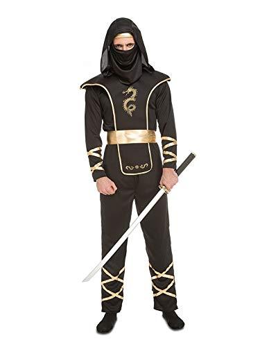 DISBACANAL Disfraz de Ninja para Hombre - Único, S: Amazon ...