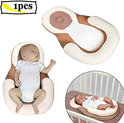 0-12 Months Newborn Organic Cotton Baby Protection Pillow Baby Sleeping Pad With Nursing Pillows Anti-rollover Mattress Pad Toys Baby Cribs Baby Furniture