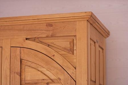 Kleiderschrank Hacienda Pinie Massiv Holz Moebel Schrank