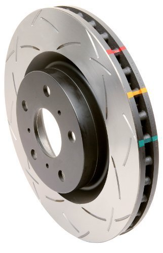 DBA (42394S) 4000 Series Slotted Disc Brake Rotor, Front