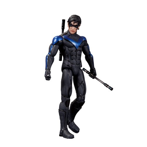 DC Collectibles Batman Arkham City Series 4: Nightwing Action Figure (Catwoman Arkham City)