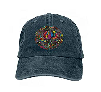 Vintage Trend Printing Cowboy Hat Fashion Baseball Cap for Men and ...