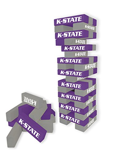 Wild Sports NCAA College Kansas State Wildcats Table Top Stackers Game (Stacker Cat)