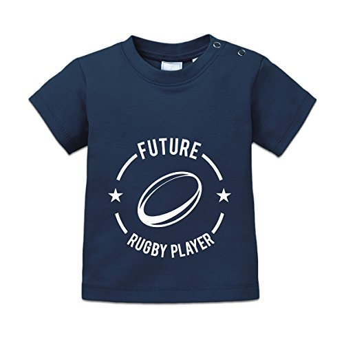 Shirtcity Future Rugby Player Baby T-Shirt 68/74 - Rugby 420