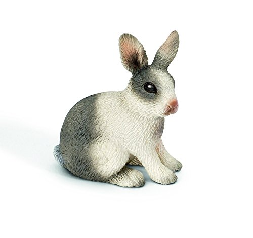 Schleich Sitting Rabbit Toy Figure