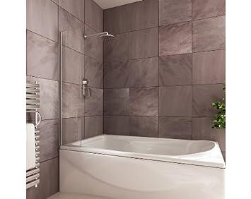 Küche Schutzwand badewannen schutzwand mittlere größe 300 mm breit amazon de
