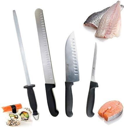 FISH MONGER FILLETING KNIFE SET BY DOLOMITEN INOX