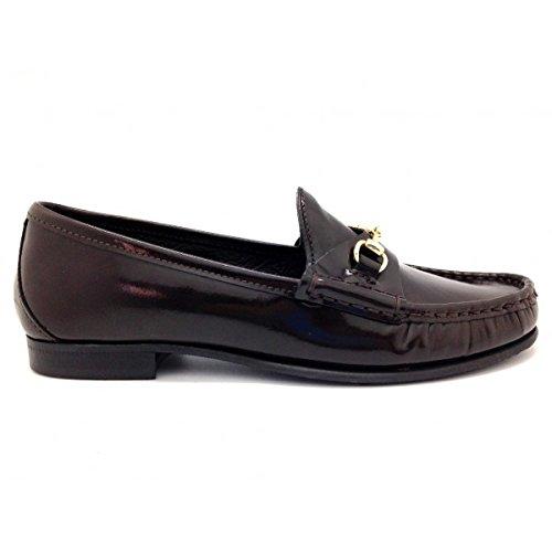 Castellano® 1920 Madrid - Mocasín de charol en color azul para mujer: Amazon.es: Zapatos y complementos