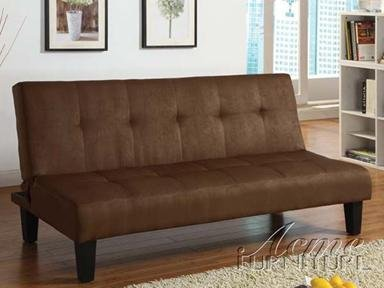 Cheap Acme Modern Chocolate Microfiber Sleeper Sofa • Sofa fer