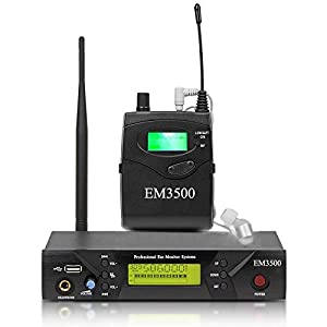 Audio UHF Wireless in Ear Monitor System EM35...