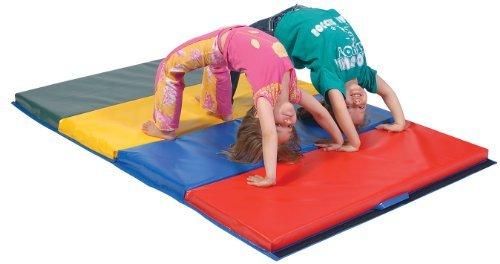 "TUMBLING MAT 4' X 8' X 2"" MADE IN THE USA PHTHALATE FREE, MEETS CPSIA 2008 LAW NOTE:WILL SHIP AFTER 1 1 13"