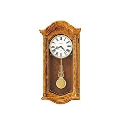 Lambourn Ii Oak Wall Clock Golden Oak Dimensions: 14.5W X 5.75D X 28H Weight: 17 Lbs