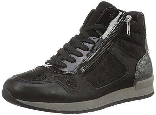 Damen Raven Top High Schwarz Marc Shoes 45ExqwCqf