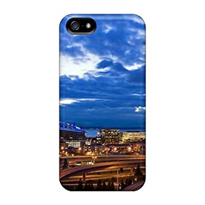 High-end Case Cover Protector For Iphone 5/5s(great City Seen)