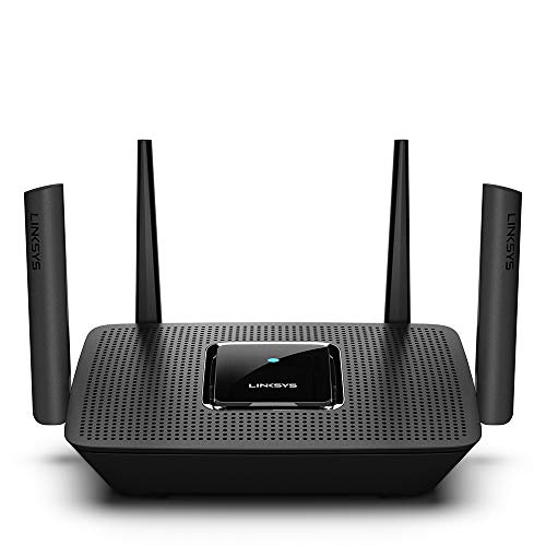 Linksys Mesh WiFi Router (Tri-Band Router, Wireless Mesh Router for Home AC2200), Future-Proof MU-MIMO Fast Wireless Router