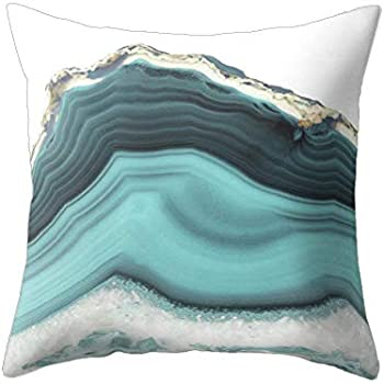 wintefei Modern Living Room Decoration Abstract Square Pillow Case 18inch Cushion Cover
