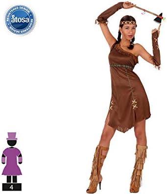 Atosa-39511 Disfraz India, Color marrón, XL (39511): Amazon.es ...
