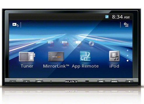 Sony XAV-742 6 95 inch DVD Player with Mirror Link for iPhone