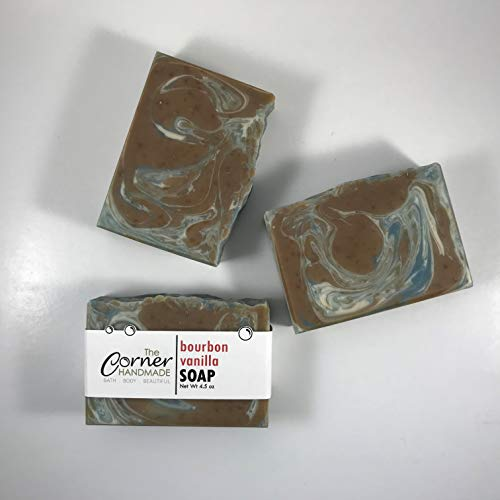 Grandpas Vanilla Soap - Bourbon Vanilla Soap, Handmade Soap Gift Idea for Men, Hand Crafted Soap, Body Soap for Him