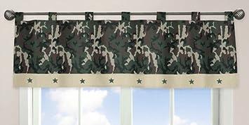 Amazon.com: Sweet Jojo Designs ventana cenefa, verde ...