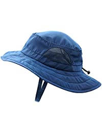 Kids UPF 50+ Bucket Sun Hat UV Sun Protection Hats Summer Play Hat