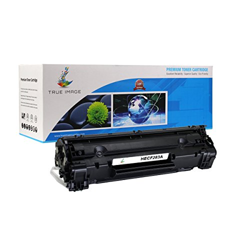 TRUE IMAGE Compatible Toner Cartridge Replacement for HP CF283A ( Black )