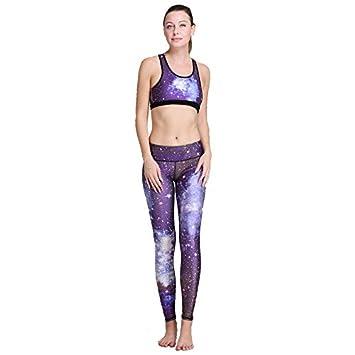 El gimnasio del sello Digital de coser a yoga fitness suite, un juego de ropa