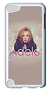 iPod Touch 5 Case, iPod 5 cases - Customized Design White Back Case Cover for iPod 5 Adele 25 Ultra Thin Hard Case Cover For iPod Touch 5