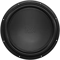 NVX 15-inch True 750 watt RMS 1500 watt Peak Dual 2-Ohm Car Subwoofer Aluminum Shorting Ring [VSW152v2]