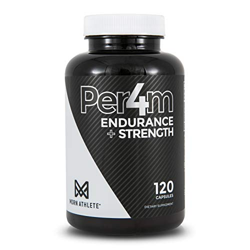 MDRN Athlete Per4mTM, Keto Friendly Creatine HCl & Peak02®, Endurance, Strength, Natural Anabolic, Muscle Builder - 120 Capsules