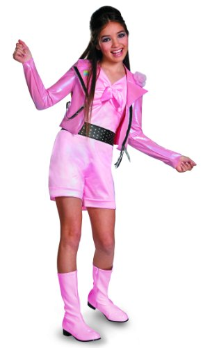 [Disguise Disney Teen Beach Movie Lela Biker Deluxe Tween Costume, 14-16] (Biker Kid Costume)