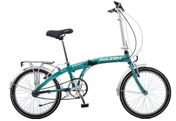 c204634f890 Raleigh Stowaway 3 Folding Bike - 20w Blue - Sturmey Archer 3 speed ...